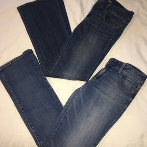 2/$20 American Eagle Kick Boot & Artist Jeans 8